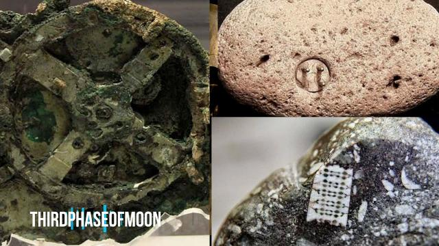 500,000 Year Old Machine Discovered? Ancient Alien Technology Full Length Documentary!