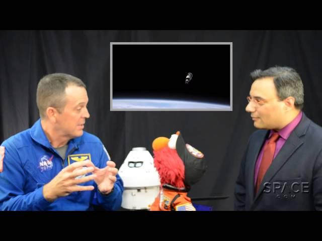 Elmo's Excited About The Orion Test Flight | Exclusive Interview