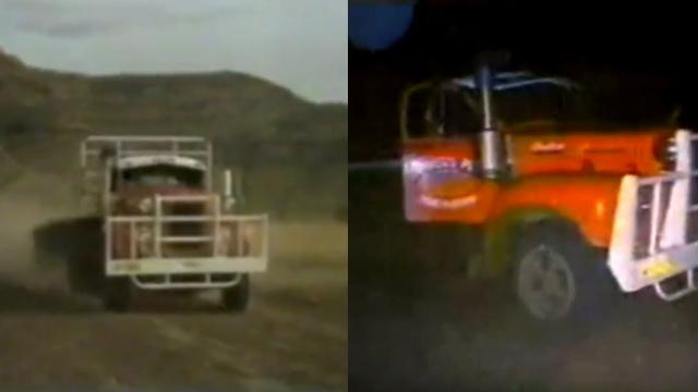 Mysterious UFO Encounter by Two Truck Drivers in Western Australia (1987) - FindingUFO