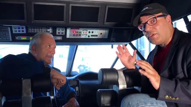 Inside NASA's Mars Rover Concept Vehicle - Talking with @Astro_Mike