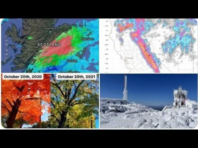 8 feet of Snow for Sierras? UK Tornado? Waves of PNW storms & Heat for South & Northeast.
