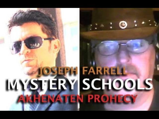 AKHENATEN PROPHECY: MYSTERY SCHOOLS & GIZA DEATH STAR - JOSEPH FARRELL & DARK JOURNALIST