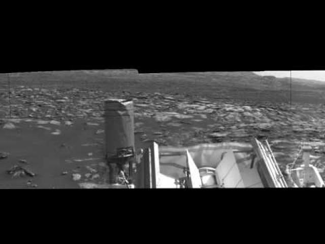 Martian Dust Devils Come Within Curiosity's Line of Sight   Video