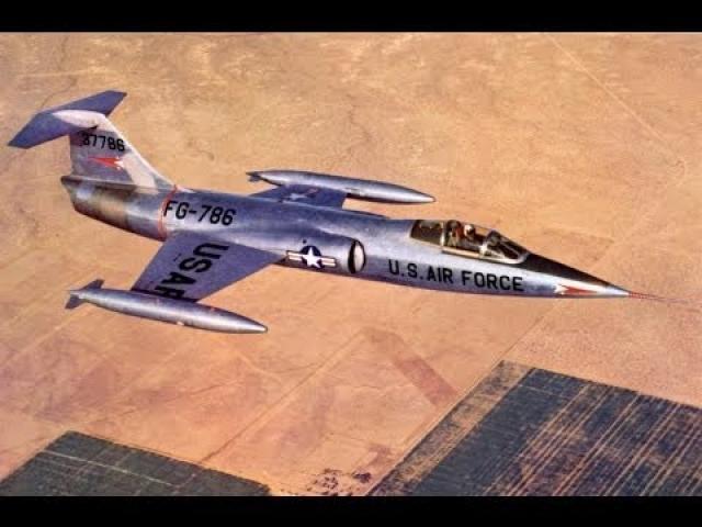 Lockheed F-104 Starfighter - Documentary