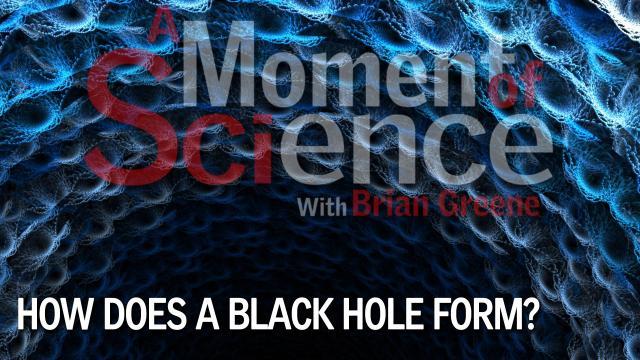 how does a black hole form - photo #12