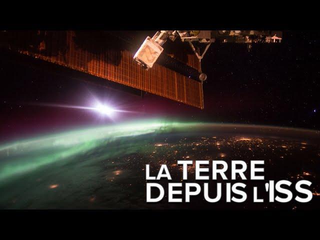 Des aurores polaires vues de l'ISS, un spectacle époustouflant