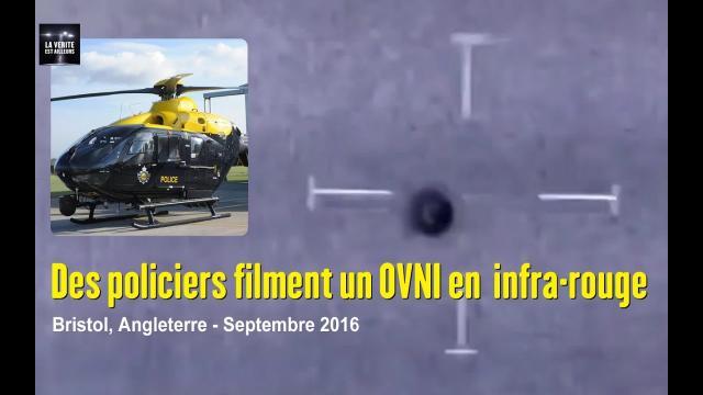 ★ INFO : Des Policiers filment un OVNI à Bristol en Angleterre ! - Septembre 2016