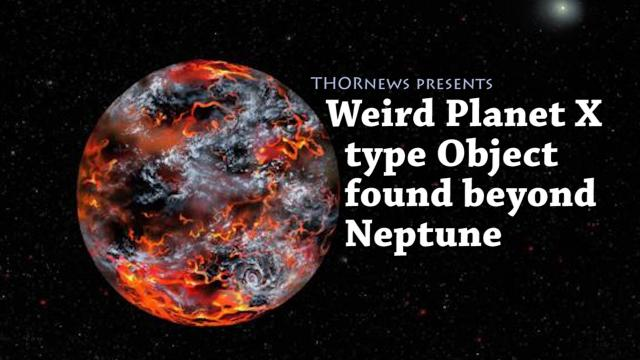 Strange & Odd Planet X type Object found beyond Neptune
