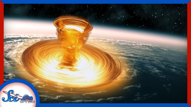 We Almost Didn't See the North Pole Space Hurricane | SciShow News