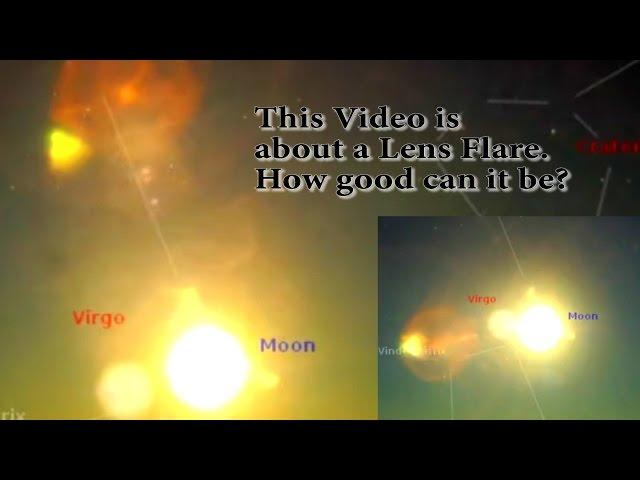 This video is about a lens flare. How good can it be?