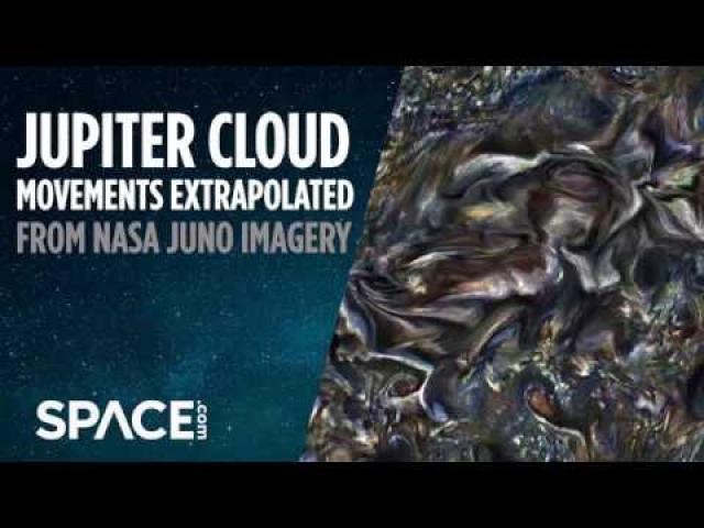 Watch Jupiter's Clouds Move in Mesmerizing Animation