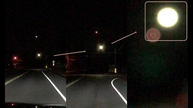 Bright Orb filmed over Manalapan  NJ, US