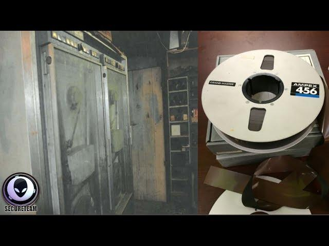 MYSTERY NASA Tapes Found In Dead Engineer's Basement 7/16/17