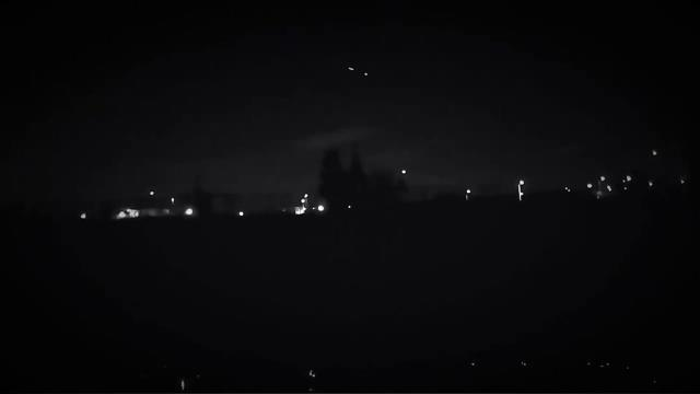 Fireball Over Illinois Captured by Police Dashcam