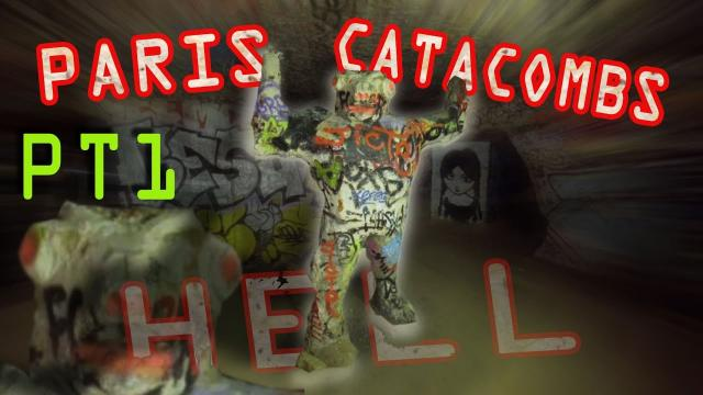 Paris Catacombs PT1 - INTO HELL! - 4K 3hr URBEX