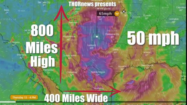 Red Alert! Massive WIND & rain Storm for Texas & East Coast Earthquakes