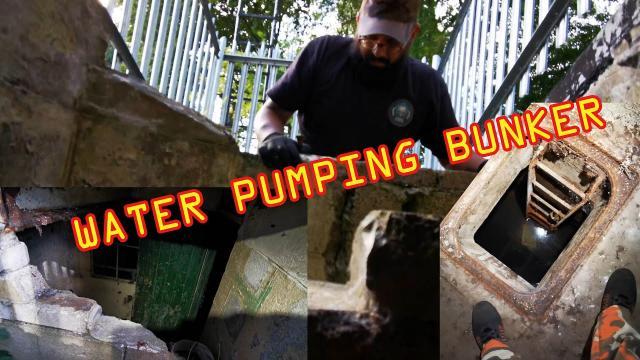 FLOODED Bridgend Water Pumping Bunker