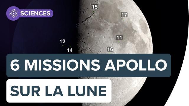 Lune : où se sont les six missions Apollo ? | Futura