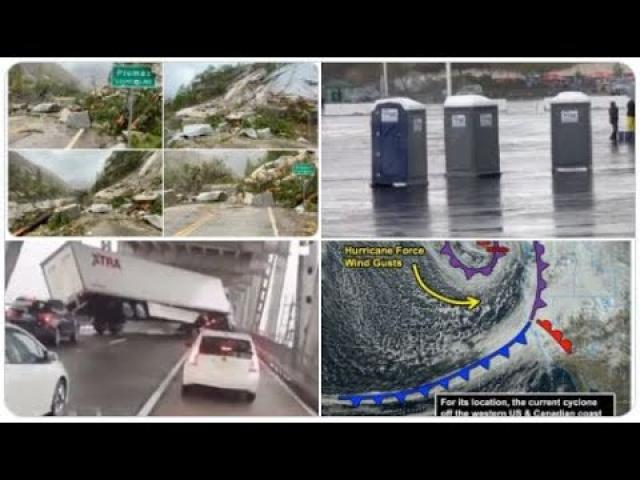Super Wild Weather continues! Record Bombcyclone! Nor'Easter! Eurocane! TOILET GHOSTS! Severe WX!