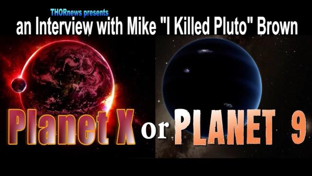 "Planet X & Planet 9 - An Interview with Mike ""PlutoKiller"" Brown"