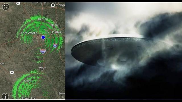 Alien Invasion Over Texas, Fleet Of Motherships Seen On Radar