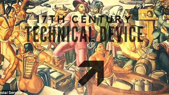 Time Travel: Technical Device in 17th Century Depiction