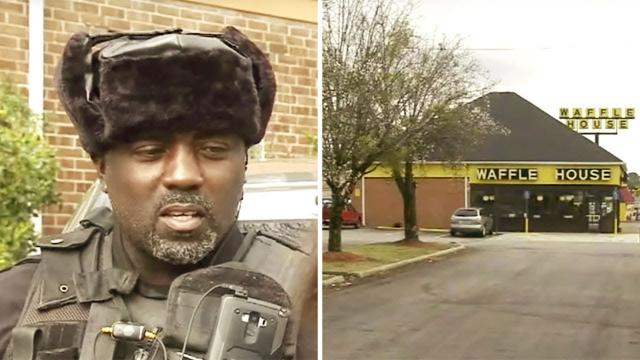 When A Waffle House Employee Saw A Man And His Shivering Son, He Told Them To Get Into His Car