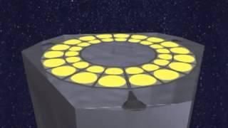 DARPA Proposes Folding Space Telescope Design | Animation