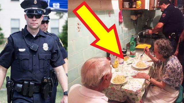 These Cops Made Dinner For Elderly Couple After They Were Overheard Crying