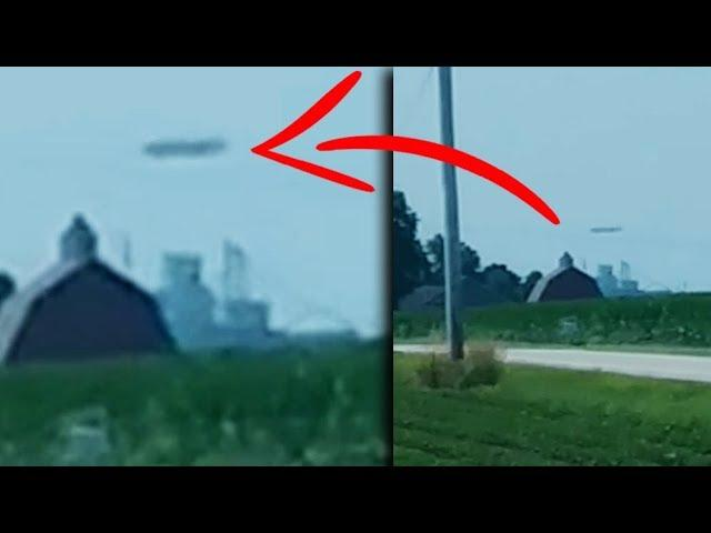 GIANT UFO Caught On Camera? Watch This NOW!