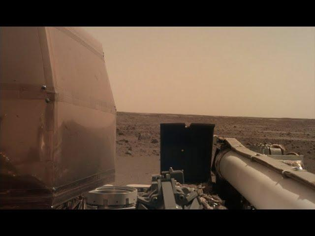 Listen: NASA InSight Lander Records Martian Wind