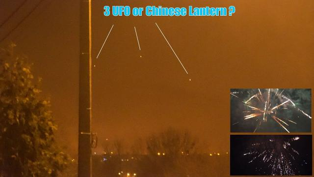 Aliens wishing you Happy New Year 2020, UFO spotted in Belgium skies
