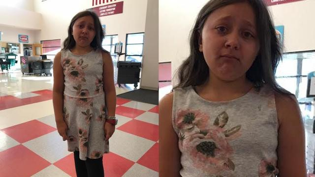 When This 11 Year Old Wore Her Dress For Picture Day, The School's Response Left Her In Tears