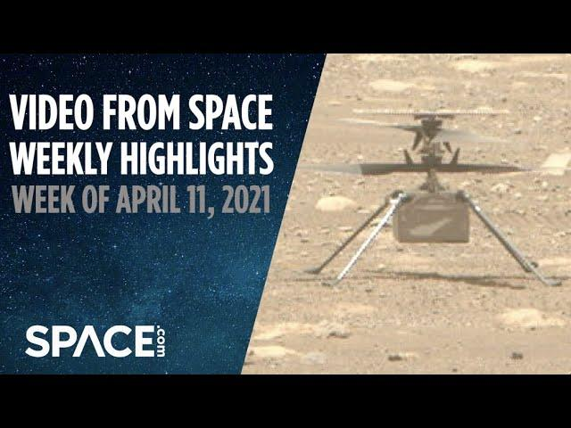 Mars helicopter delay, Blue Origin launches and more in VFS Weekly