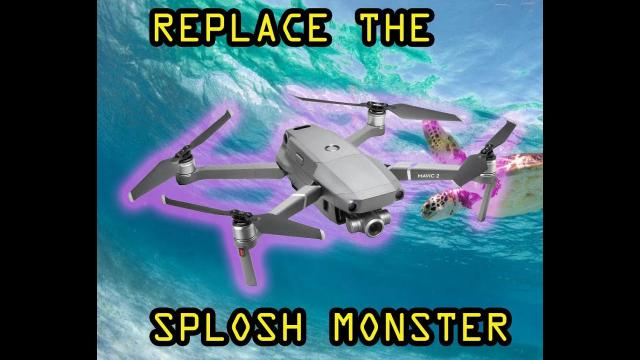Beg beg replace drone lost in the sea