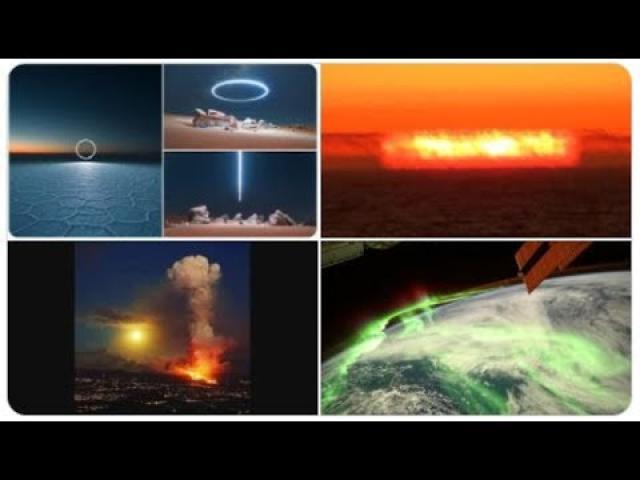 Spain's Volcano Fountain, Planetary Retrograde City, the Dangerous Mid-October Hurricane & Christmas