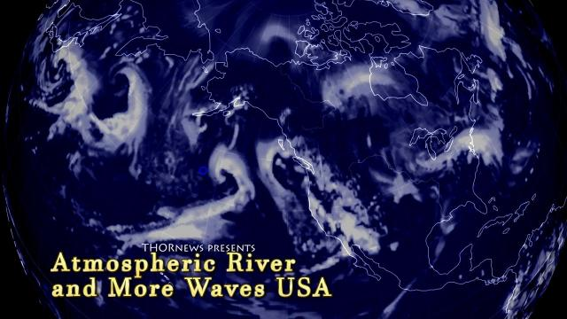Atmospheric River & more Waves headed to USA: Wild Weather report