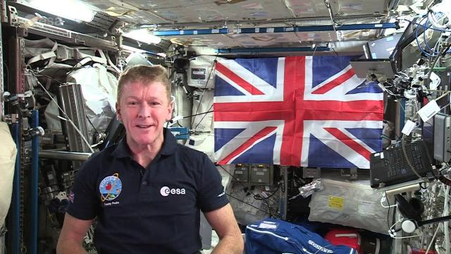 'God Save The Queen' From Space -- UK Astronaut's Message | Video