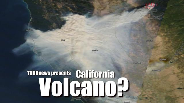 California Volcano Eruption? Paradise fire is very anomalous