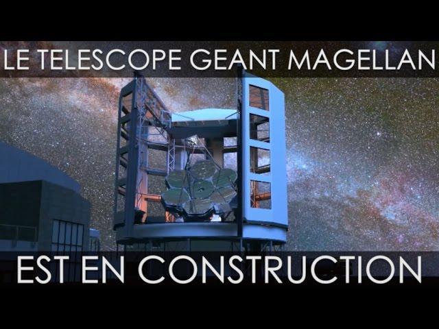 La construction du GMT, un des plus grand télescopes optiques du monde, a commencé