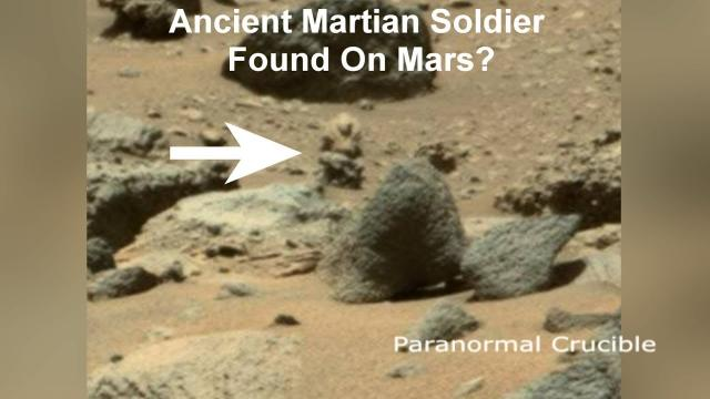 Tiny Martian Soldier Found On Mars?
