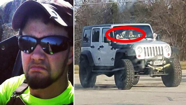 Man spots odd silver jeep at Walmart for weeks, decides to approach driver