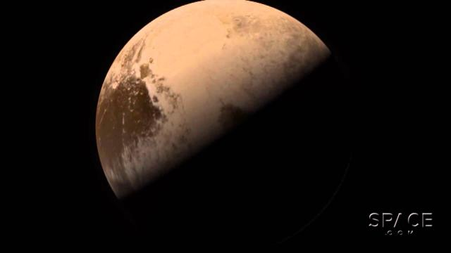 Pluto Fly-By Video From New Horizons' Images By Björn Jónsson