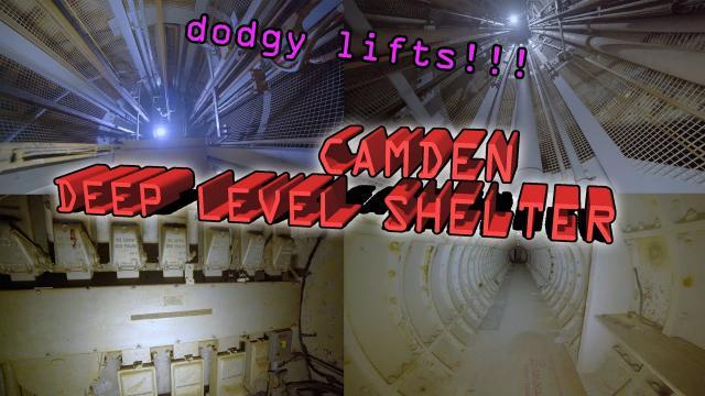 Camden Deep Level Shelter DODGY LIFTS TO BUNKER