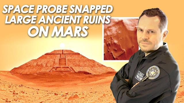 ???? Space Probe Snapped Large Ancient Ruins on Mars