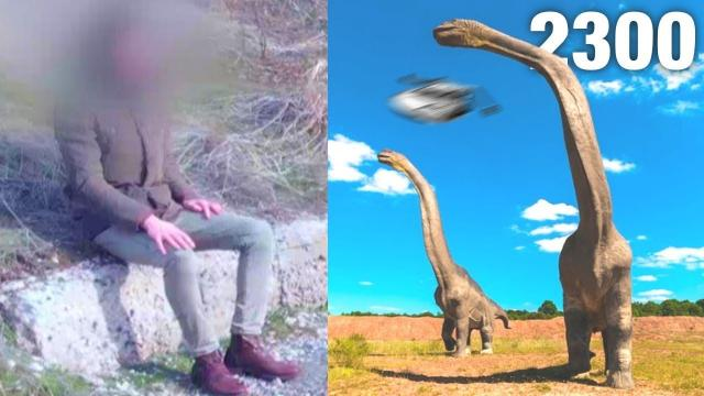 Time Traveler Who Saw Dinosaurs in The Future Speaks Out