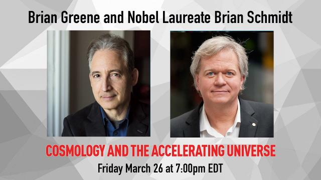 Cosmology and the Accelerating Universe | A Conversation with Nobel Laureate Brian Schmidt