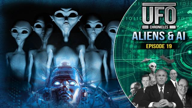Artificially Enhanced Extraterrestrial Entities and the A.I. Comparison!... Richard Dolan TV Series