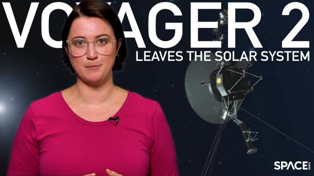 Voyager 2 Leaves the Solar System