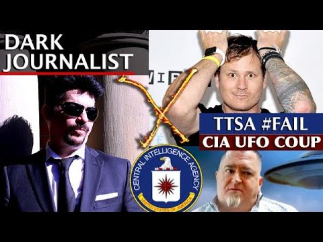 DARK JOURNALIST X-SERIES 72: UFO FILE COUP! TTSA CIA FAKE DISCLOSURE REVEALED!